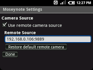Obtaining a Live Camera Preview in Android
